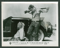 "Elizabeth Taylor and James Dean in ""Giant"" (Warner Brothers, 1956). B&W Stills (9) and Color Stills (2..."