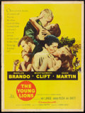 """Movie Posters:War, The Young Lions (20th Century Fox, 1958). Poster (30"""" X 40""""). War....."""