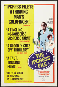 """The Ipcress File (Universal, 1965). One Sheet (27"""" X 41"""") Style B. Thriller"""