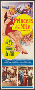 "Movie Posters:Adventure, Princess of the Nile (20th Century Fox, 1954). Insert (14"" X 36"").Adventure.. ..."
