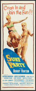 "Movie Posters:Rock and Roll, Surf Party (20th Century Fox, 1964). Insert (14"" X 36""). Rock andRoll.. ..."
