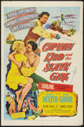"""Movie Posters:Adventure, Captain Kidd and the Slave Girl (United Artists, 1954). One Sheet(27"""" X 41""""). Adventure.. ..."""