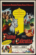 "Movie Posters:Adventure, Flame of Calcutta (Columbia, 1953). One Sheet (27"" X 41"").Adventure.. ..."
