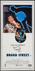 """Movie Posters:Rock and Roll, Give My Regards to Broad Street (20th Century Fox, 1984). Australian Daybill (13"""" X 27""""). Rock and Roll.. ..."""