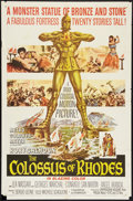 """Movie Posters:Adventure, The Colossus of Rhodes Lot (MGM, 1961). One Sheets (2) (27"""" X 41"""").Adventure.. ... (Total: 2 Items)"""
