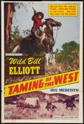 """Movie Posters:Western, Wild Bill Elliott Lot (Various, 1949-1952). One Sheet (27"""" X 41"""") and Half Sheet (22"""" X 28""""). Western.. ... (Total: 2 Items)"""