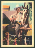 "Movie Posters:Western, Gene Autry Lot (Republic, 1940s). Arcade Cards (5) (5"" X 7"").Western.. ... (Total: 5 Items)"