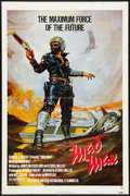 "Movie Posters:Science Fiction, Mad Max (American International, 1980). One Sheet (27"" X 41""). Science Fiction.. ..."