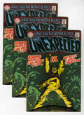 Silver Age (1956-1969):Horror, Unexpected #112 Multiple Copies Group (DC, 1969) Condition: AverageVF.... (Total: 14 Comic Books)