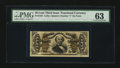 Fractional Currency:Third Issue, Fr. 1333 50¢ Third Issue Spinner PMG Choice Uncirculated 63....