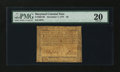Colonial Notes:Maryland, Maryland December 7, 1775 $8 PMG Very Fine 20....
