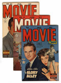 Golden Age (1938-1955):Romance, Movie Love #17, 21, and 22 Group (Famous Funnies, 1952-53)Condition: Average VF.... (Total: 3 Comic Books)