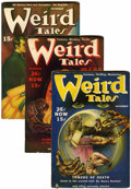 Pulps:Horror, Weird Tales Group (Popular Fiction, 1939-45) Condition: AverageFN.... (Total: 37 Items)