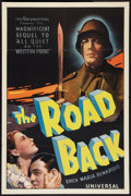 "Movie Posters:War, The Road Back (Universal, 1937). One Sheet (27"" X 41""). War.. ..."