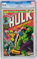 Bronze Age (1970-1979):Superhero, The Incredible Hulk #181 (Marvel, 1974) CGC NM/MT 9.8 Off-white pages....