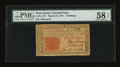 Colonial Notes:New Jersey, New Jersey March 25, 1776 3s PMG Choice About Unc 58 EPQ....