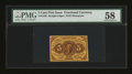 Fractional Currency:First Issue, Fr. 1230 5¢ First Issue PMG Choice About Unc 58....