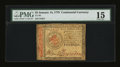 Colonial Notes:Continental Congress Issues, Continental Currency January 14, 1779 $5 PMG Choice Fine 15....