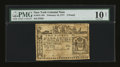 Colonial Notes:New York, New York February 16, 1771 £2 PMG Very Good 10 Net....