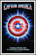 """Movie Posters:Action, Captain America (Columbia/Tristar, 1990). One Sheet (27"""" X 41"""") SSAdvance. Action.. ..."""
