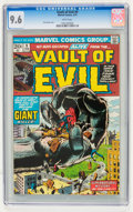 Bronze Age (1970-1979):Horror, Vault of Evil #9 (Marvel, 1974) CGC NM+ 9.6 White pages....