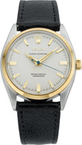 Timepieces:Wristwatch, Rolex Ref. 6564 Steel & Gold Oyster Perpetual, circa 1957. ...