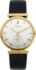 Timepieces:Wristwatch, Corum Gent's Gold Wristwatch, circa 1975. ...