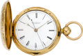 Timepieces:Pocket (pre 1900) , R. & G. Beesley Liverpool Doctor's Gold Lever Fusee PocketWatch, circa 1855. ...