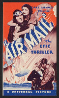 """Movie Posters:Adventure, Aviation Lot (Various, 1932-1966). Lobby Cards (2) (11"""" X 14"""") andHerald (7"""" X 8"""" Folded Out). Adventure.. ... (Total: 3 Items)"""