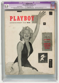 Playboy #1 (HMH Publishing, 1953) CGC Apparent VG/FN 5.0 Slight (A) Off-white to white pages