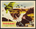 "Movie Posters:Science Fiction, Rodan! The Flying Monster (Toho/ DCA, 1957). Lobby Card (11"" X14""). Science Fiction.. ..."