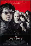 """Movie Posters:Horror, The Lost Boys (Warner Brothers, 1987). One Sheet (27"""" X 41"""") and Program (Multiple Pages, 9"""" X 12""""). Horror.. ... (Total: 2 Items)"""
