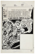 Original Comic Art:Covers, Ron Wilson and Frank Giacoia The Complete Fantastic Four #2Cover Original Art (Marvel, 1977)....
