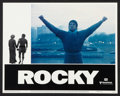"""Movie Posters:Sports, Rocky (United Artists, 1977). Lobby Card Set of 8 (11"""" X 14""""). Sports.. ... (Total: 8 Items)"""
