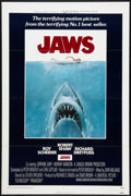 """Movie Posters:Horror, Jaws (Universal, 1975). One Sheet (27"""" X 41"""") Flat Folded. Horror....."""