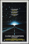 "Movie Posters:Science Fiction, Close Encounters of the Third Kind (Columbia, 1977). One Sheet (27""X 41"") Flat Folded. Science Fiction.. ..."