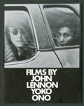 "Movie Posters:Documentary, Films by John Lennon and Yoko Ono (John Lennon and Yoko Ono, 1972). Herald (4.75 X 6""). Documentary.. ..."