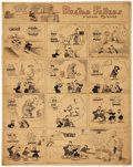 Original Comic Art:Comic Strip Art, Gene Byrnes Reg'lar Fellers Sunday Comic Strip Original Art dated 7-4-26 (NY Tribune, Inc., 1926)....