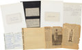 Baseball Collectibles:Others, Negro Leaguers Correspondence and Original Photos Lot. ...