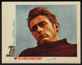 "Movie Posters:Documentary, The James Dean Story (Warner Brothers, 1957). Lobby Card Set of 8 (11"" X 14""). Documentary.. ... (Total: 8 Items)"