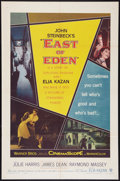 "Movie Posters:Drama, East of Eden (Warner Brothers, 1955). One Sheet (27"" X 41"").Drama.. ..."