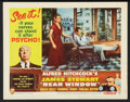"""Movie Posters:Hitchcock, Rear Window (Paramount, R-1962). Lobby Card Set of 8 (11"""" X 14"""").Hitchcock.. ... (Total: 8 Items)"""