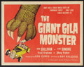 """Movie Posters:Horror, The Giant Gila Monster (McLendon Radio Pictures, 1959). Half Sheet (22"""" X 28""""). Horror.. ..."""
