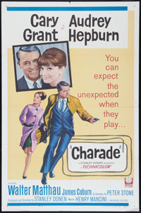 "Charade (Universal, 1963). One Sheet (27"" X 41""). Mystery"