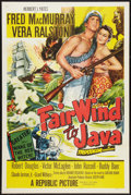 "Movie Posters:Adventure, Fair Wind to Java (Republic, 1953). One Sheet (27"" X 41"") FlatFolded. Adventure.. ..."