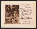 """Movie Posters:Serial, The House of Terror (William Pizor, 1928). Lobby Card Set of 8 (11"""" X 14"""") Episode 8 -- """"Revenge."""" Serial.. ... (Total: 8 Items)"""