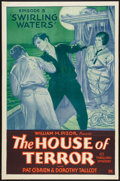 """Movie Posters:Serial, The House of Terror (William Pizor, 1928). One Sheet (27"""" X 41"""") Episode 3 -- """"Swirling Waters."""" Serial.. ..."""