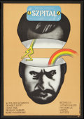 "Movie Posters:Comedy, The Hospital (United Artists, 1973). Polish One Sheet (22.75"" X 32""). Comedy.. ..."