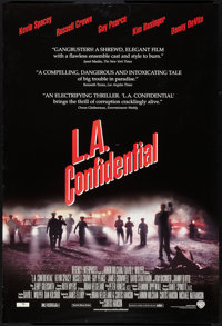 """L.A. Confidential Lot (Warner Brothers, 1997). One Sheets (2) (27"""" X 41"""") DS. Crime. ... (Total: 2 Items)"""
