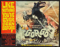 "Movie Posters:Science Fiction, Gorgo (MGM, 1961). Half Sheet (20"" X 25.5""). Science Fiction.. ..."